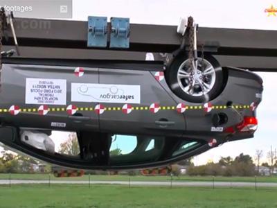 Ford Focus撞出 NHTSA新車安全評鑑最高佳績!