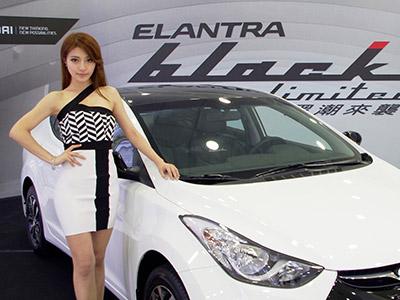 ELANTRA Black Limited-強調時尚感黑與白的經典對比