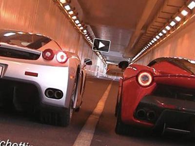 【熱門話題】法拉利 Ferrari  LaFerrari超跑尬上 Enzo ,新秀力拼老鳥!