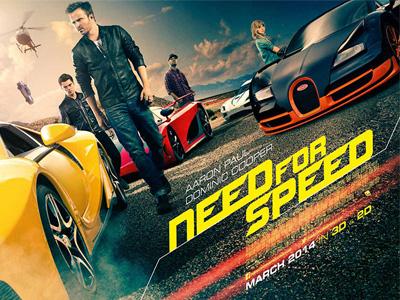 [極速快感 vs. 玩命關頭] 編輯影評:Need For Speed可能還需要更帥的主角與真實的超跑!
