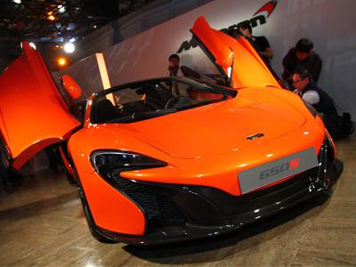McLaren 650S超級跑車1,535 萬元起正式發表,Coupe與Spider雙車型一次到位!