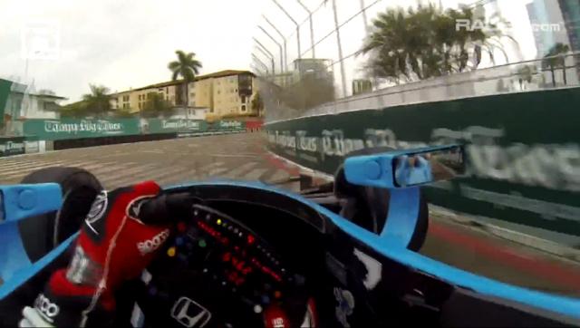 IndyCar車手 Simon Pagenaud眼中的街道賽畫面!離撞牆只有幾吋的驚悚感