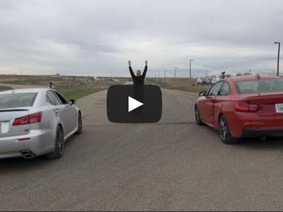 【熱門話題】BMW M235i vs. Lexus IS F直線加速!V8與渦輪6缸引擎的戰爭!