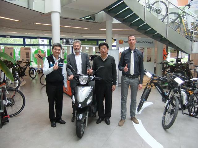 中華汽車GreenTrans電動機車登陸歐洲、第一年預估銷量將占德國10%