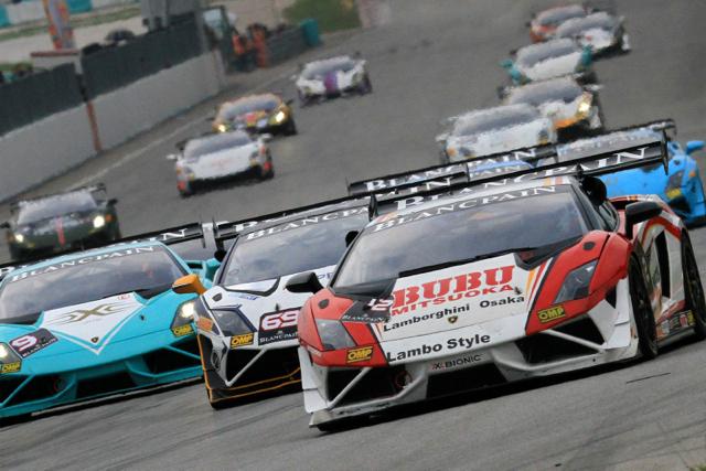 2014 Lamborghini Blancpain Super Trofeo Asia亞洲挑戰賽雪邦炙熱開戰