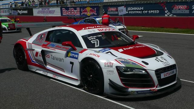2014 Audi R8 LMS Cup全新賽季正式登場!首站韓國靈岩賽道 Audi大使李勇德奪下分組季軍!