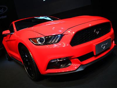 All New Ford Mustang野馬跑車於 Computex國際電腦展亮相!