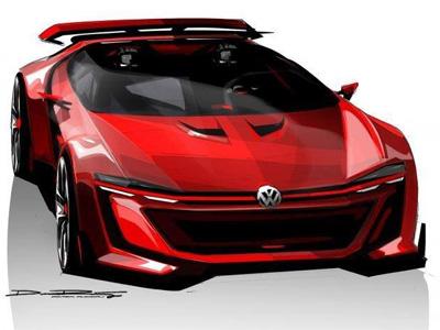 【熱門話題】Golf GTI Vision Gran Turismo Concept概念車,史上最扁的 Golf!