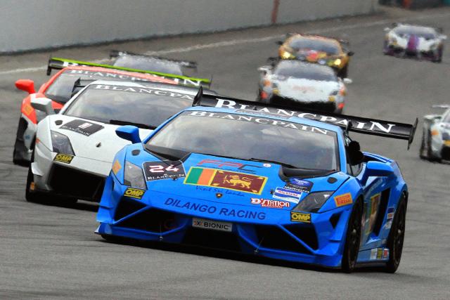 2014 Lamborghini-Blancpain Super Trofeo Asia第二站與 Andrea Baldi先生升任亞太區總經理