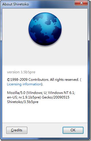 Firefox 3.5還沒來,要轉台了嗎?