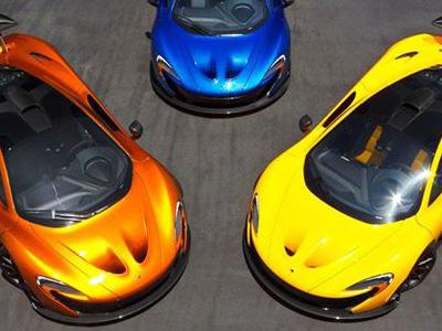 【熱門話題】McLaren P1油電超級跑車色三選一,你喜歡哪一輛?