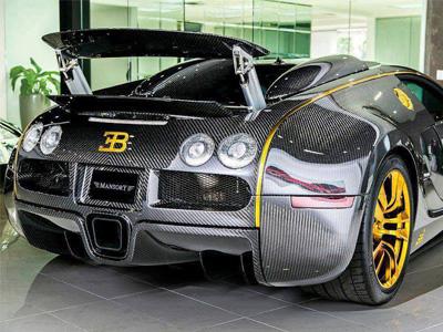 【熱門話題】Bugatti Veyron專屬碳纖維車身套件,性能到底能提升多少?