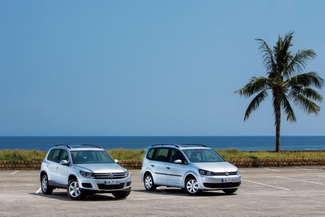 Volkswagen推出Tiguan與Touran Skyline天窗特仕版