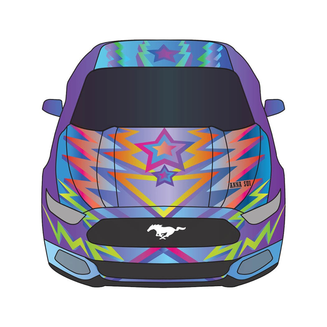 Ford Mustang時尚精神盡情揮灑:頂尖設計師「Mustang Unleashed」系列首度亮相