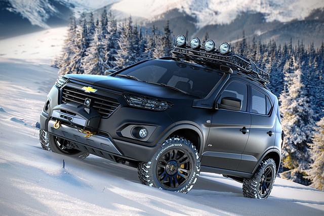 讓你任何地方都能去的Chevrolet Niva概念車