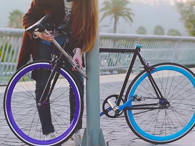 世界第一部「偷不了」的腳踏車!硬拆鎖就會變成廢鐵!