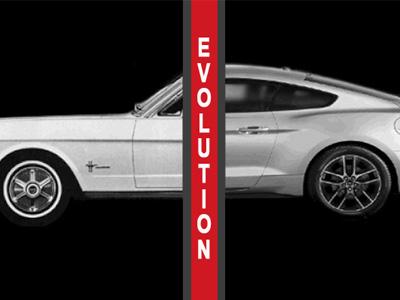 20秒看完 BMW 3-Series與 Ford Mustang的進化!超酷的動態圖檔!