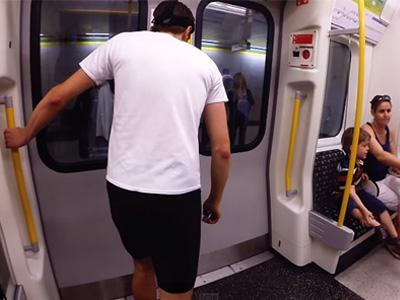 英國飛毛腿能跑得比地鐵快嗎?GoPro攝影機全程記錄!