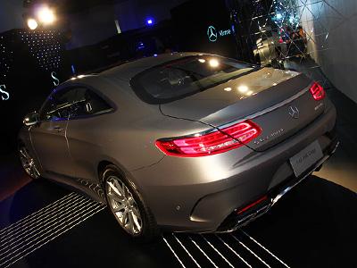 Mercedes-Benz The new S-Class Coupé正式在台上市!