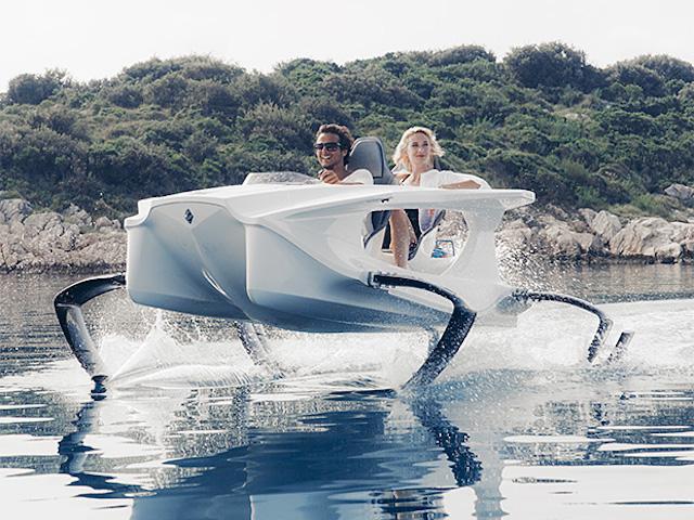 QS2 Quadrofoil帶你飛翔在海面上!零無染、還帥到掉渣!
