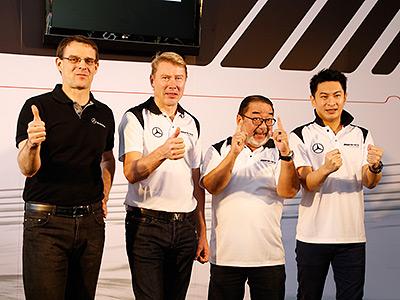 F1傳奇車手Mika Häkkinen抵台!化身AMG品牌大使