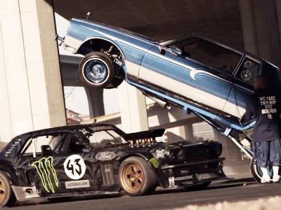 Ken Block最新 Gymkhana 7影片來了!845hp的四驅 Ford Mustang甩遍洛杉磯!
