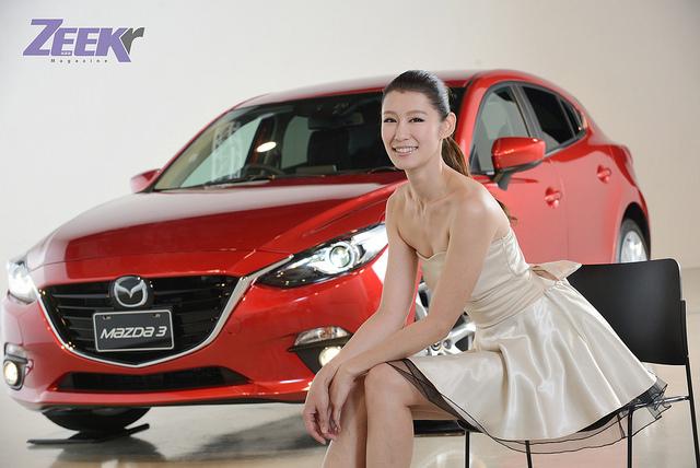 Stay True!動感勁駒Mazda3 × 陽光質女 - 趙孟姿