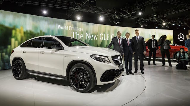 Mercedes-Benz 於底特律車展發表 GLE 63 Coupé