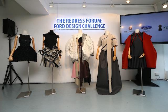 福特挑戰設計師,將再生材料轉化為時尚宣言