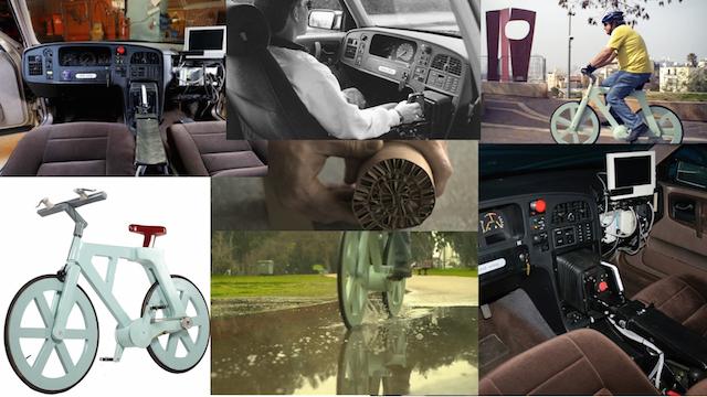 胖子也能騎的厚紙板單車!Saab真的想過用搖桿開車...