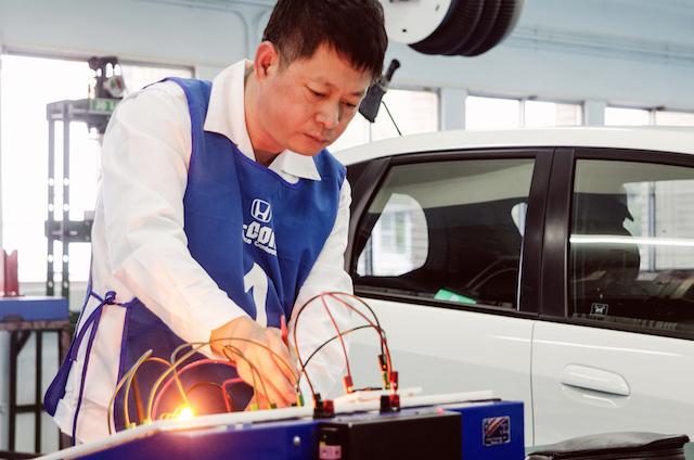 Honda Taiwan技術長檢證全數高標過關