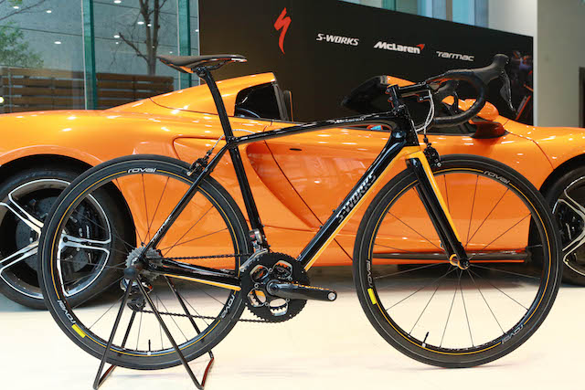 S-Works McLaren Tarmac全球限量250套典藏組:2月起全球同步交車
