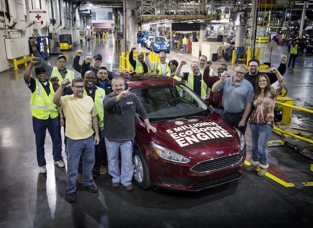 福特EcoBoost綠能引擎三年產量增十倍