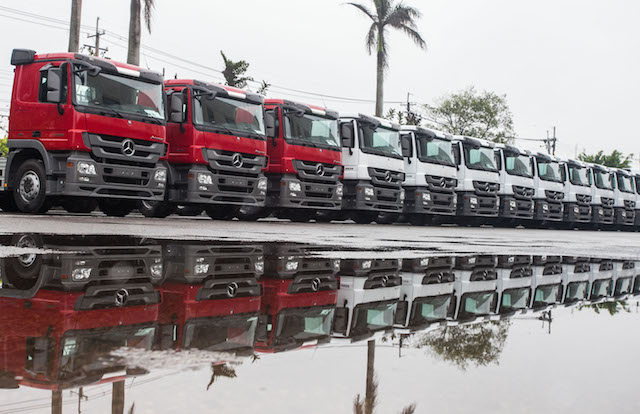 Mercedes-Benz Trucks第五千台組裝重車正式下線