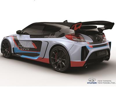HYUNDAI發表RM15概念車,輕量化車身+中置引擎!