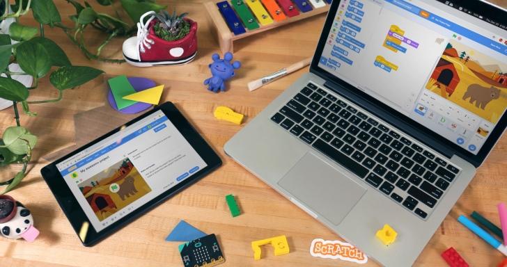 升級再出發,Scratch 3.0 程式開發工具強化動畫呈現效果