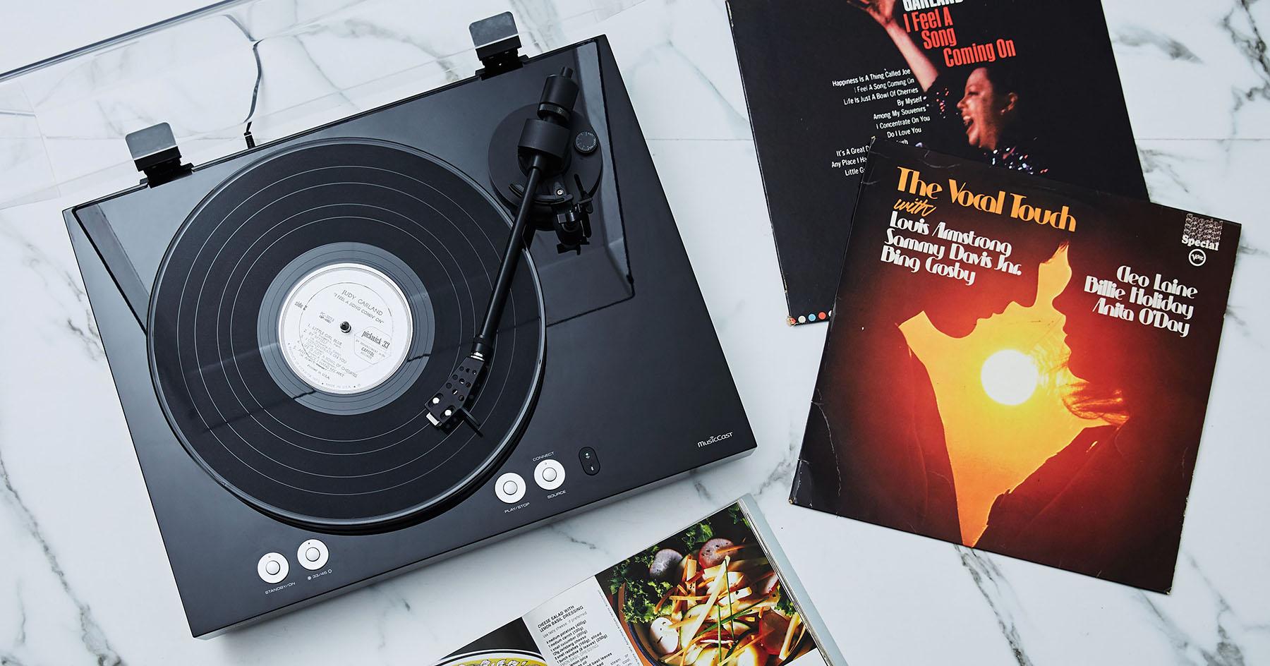 Yamaha MusicCast VINYL 500 無線黑膠唱盤動手玩:類比、數位一次擁有!