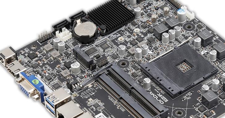 AMD AM4 平台也有 Thin Mini-ITX,ONDA 推出支援 4K@60Hz 輸出 B320-IPC 主機板