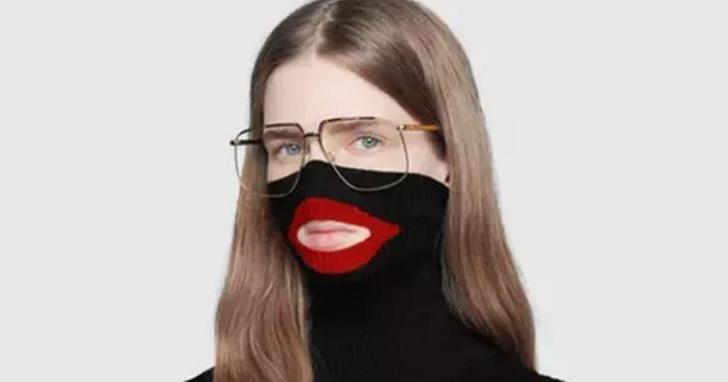 這件Gucci的毛衣被官方緊急下架並道歉,理由並不是因為它醜到爆