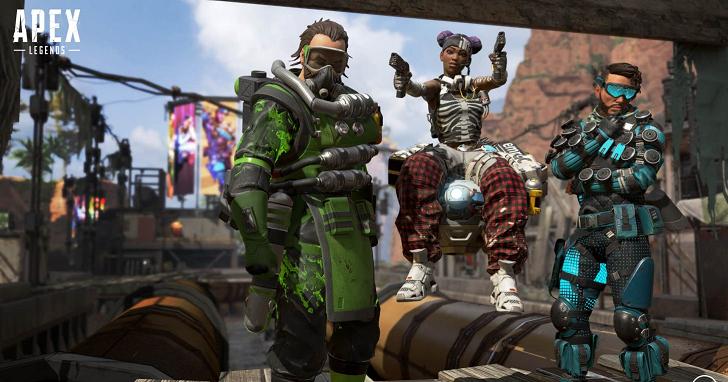 《Apex 英雄》玩家數量超過 2,500 萬,單排及雙排模式或很快到來!