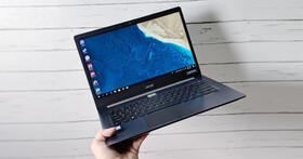 鎂鋰合金打造極輕薄商用筆電:Acer TravelMate X5 開箱與深度實測