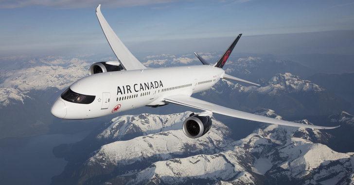加拿大航空推年度全航線、全艙限時優惠