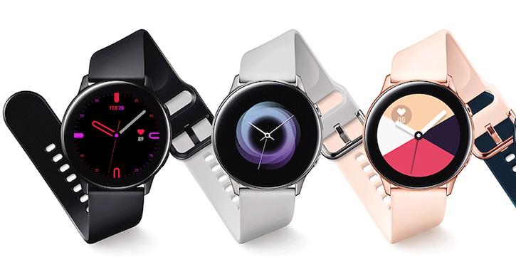 Samsung Galaxy Watch Active 內建心跳警示功能,Galaxy Fit 與 Galaxy Fit e 支援水下 50 公尺