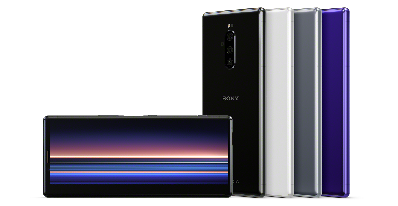 Sony 旗艦機更名,21:9 螢幕的 Xperia 1 正式發表