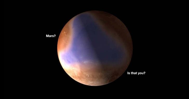 火星存在大型地下水系統,35億年前的火星也許是一片海洋