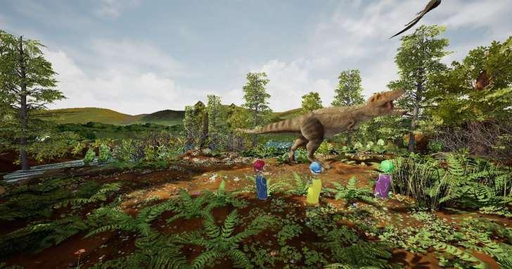 HTC VIVE攜手美國自然史博物館,發表首款雷克斯暴龍VR體驗