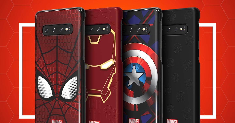三星推 Galaxy S10 專屬配件 MARVEL 保護殼、韓國明星起床鬧鈴讓手機更個人化