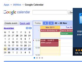 Google 離線服務第二彈,日曆離線版上線
