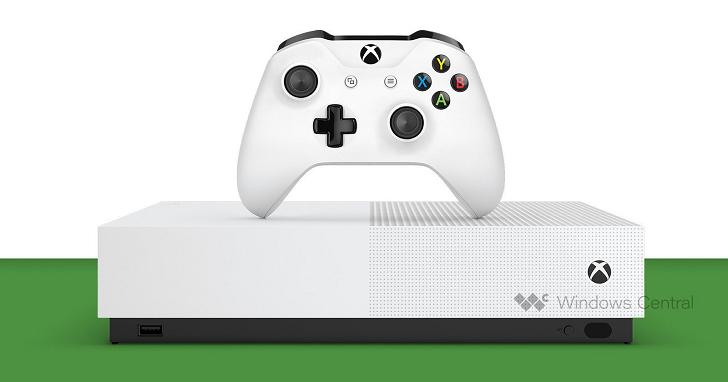 據傳微軟將在 5 月 7 日發表「無光碟機」版本的 Xbox One S
