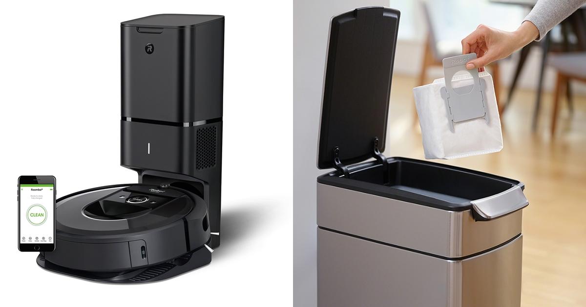 iRobot 新掃地機器人 Roomba i7+ 開賣,加入自動集塵座倒垃圾更方便